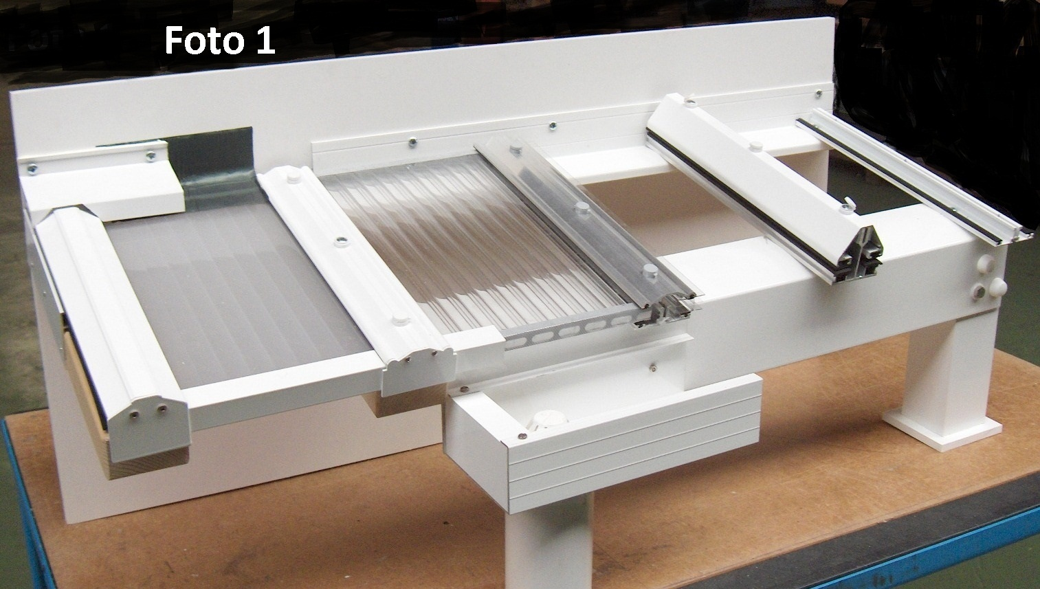Aluminium dakprofielen